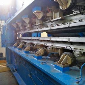 Modernisierung Textilmaschine
